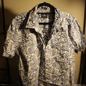 Men's American Eagle Short Sleeve Button Up